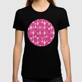 Harlequin Print Pinks T-shirt