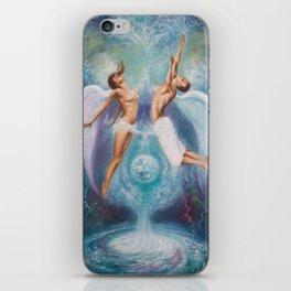 Heavenly Ties iPhone Skin