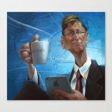 Bill Gates Canvas Print