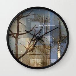 Dead Trees Wall Clock