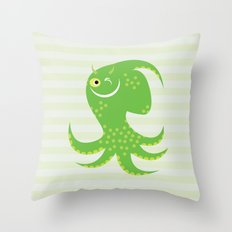 Squid of Reassurance Throw Pillow