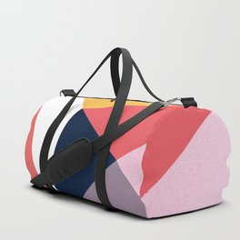 Modern Poetic Geometry Duffle Bag