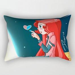Heart girl Rectangular Pillow