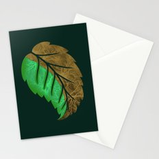 Drying Leaf Stationery Cards
