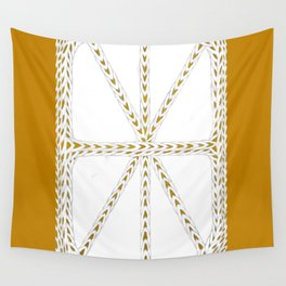 Patterns of Gold Wall Tapestry