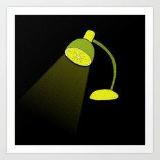 Lime Light Art Print