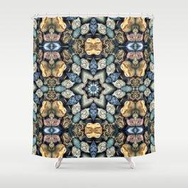Stone Circle 03 Shower Curtain
