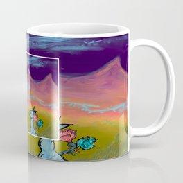 Montañas naranjas Coffee Mug