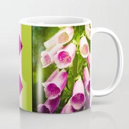 Painted Foxgloves Coffee Mug
