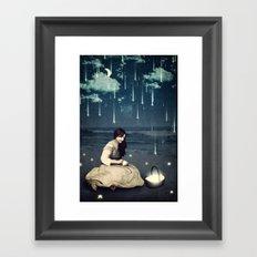 A Basket Of Wishes Framed Art Print