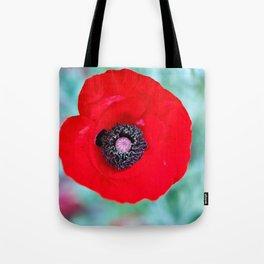 Kiss Me Red Tote Bag