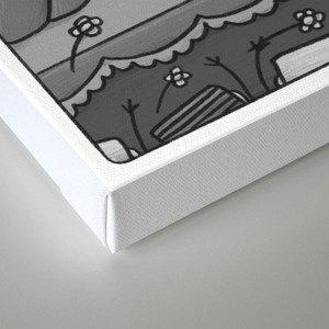 BRAVISSIMO CAT'N'BAT Canvas Print