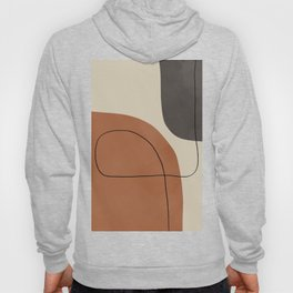 Modern Abstract Shapes #1 Hoody