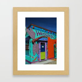 The Workshop-vertical Framed Art Print