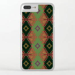 Indian Designs 81 Clear iPhone Case