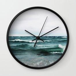 Turquoise Sea #2 Wall Clock