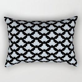 Classy Bat Pattern Rectangular Pillow