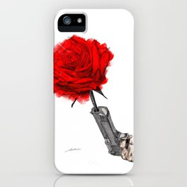 Love is in bloom iPhone Case
