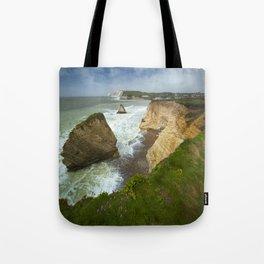 Isle Of Wight Seascape Tote Bag