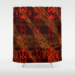 Autumn Tribal II Shower Curtain
