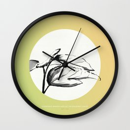 [5.21—5.25] Silkworms Awaken and Eat the Mulberry Leaves Wall Clock