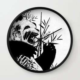 Panda Z Wall Clock