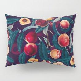 Nectarine and Leaf pattern Pillow Sham