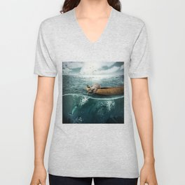 One summer day... Unisex V-Neck