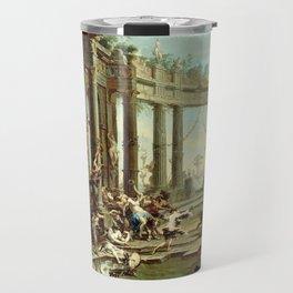 Alessandro Magnasco Bacchanale Travel Mug