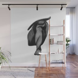 Patience: Figure Drawing Study Wall Mural