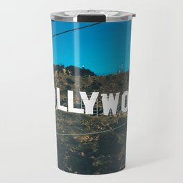 The Hollywood Sign Travel Mug