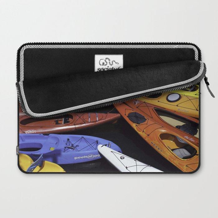 Kayaks Laptop Sleeve