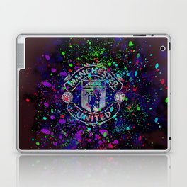 Watercolor Manchester United Laptop & iPad Skin