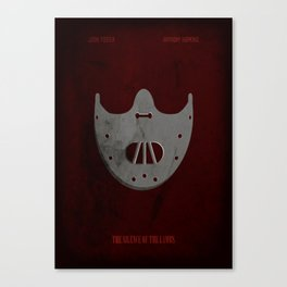 The Silence of the Lambs - Minimal Canvas Print