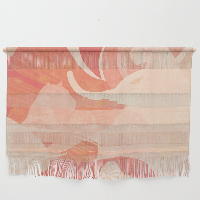 Nomade in Terracotta Wall Hanging