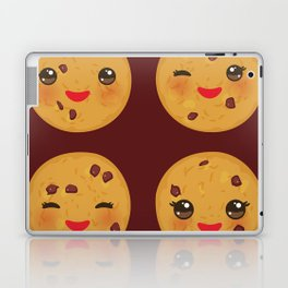 Kawaii Chocolate chip cookie Laptop & iPad Skin