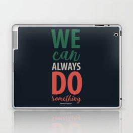 Giovanni Falcone quote, justice, life, fight, civil, political rights, human, politics Laptop & iPad Skin