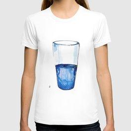 Half.  T-shirt