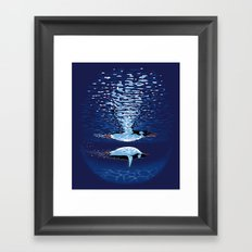 Flying the Dream Framed Art Print