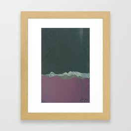 SURFACE #4 // CASTLE Framed Art Print