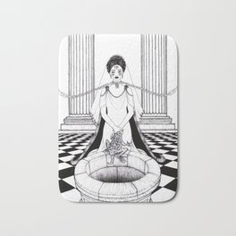 Doing Well / The Princess and the Frog Bath Mat