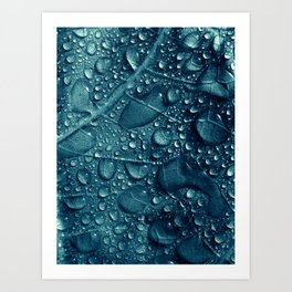 blue water XVI Art Print