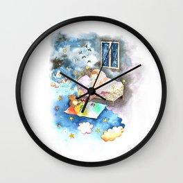 Dream big my little baby Wall Clock