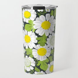 Daisy Flowers Travel Mug