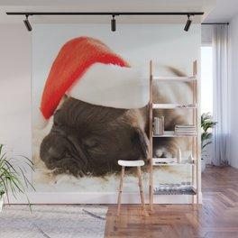 Christmas dog Wall Mural