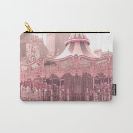 Paris Nursery, Blush, Carousel Carry-All Pouch