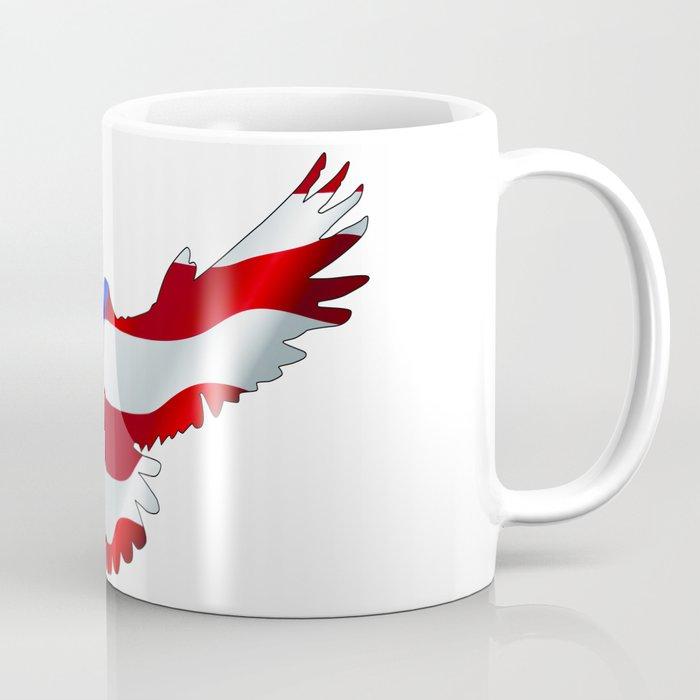 Stars and Stripes Eagle Coffee Mug