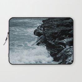 Crashing Waves On Rocks Laptop Sleeve