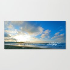 Fistral Beach, Newquay, England Canvas Print