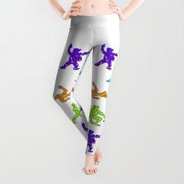 Ninja Pajama Party Leggings